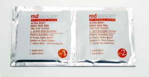 md skincare alpha beta peel pack 2