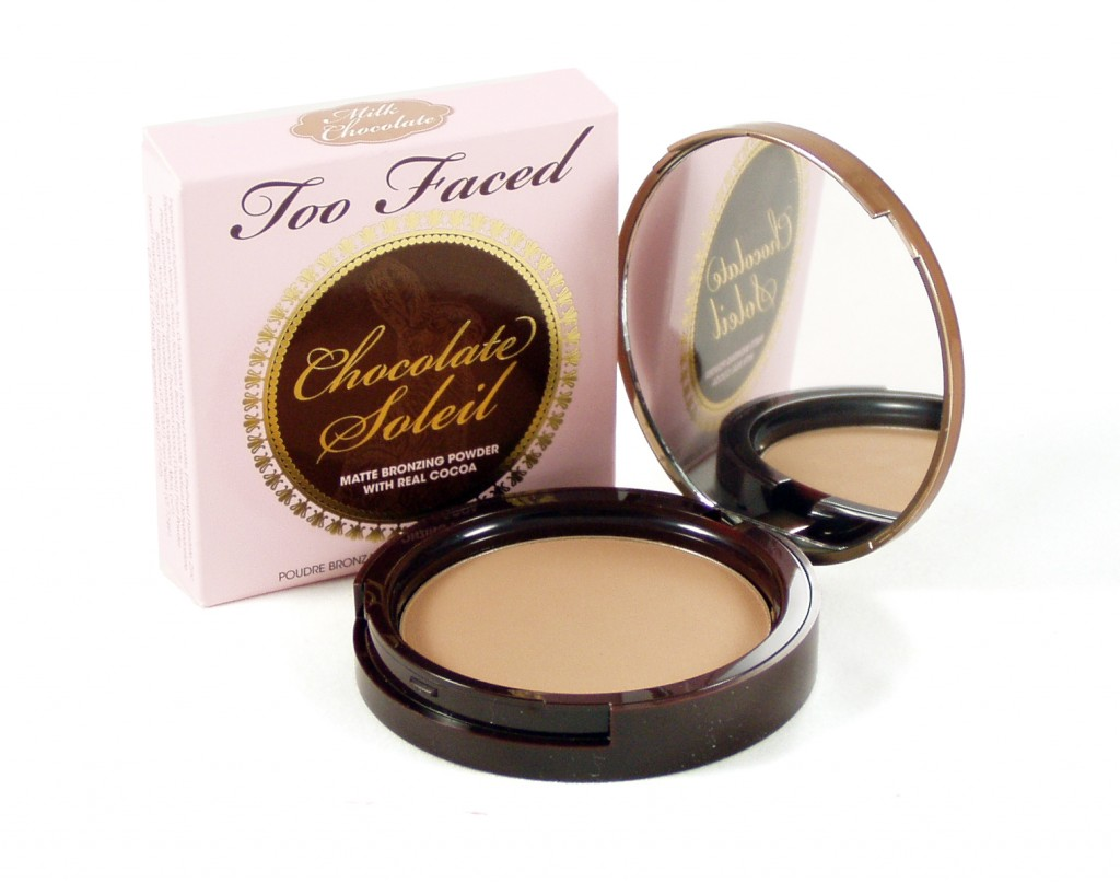 Review: Too Faced Milk Chocolate Soleil Matte Bronzing Powder ...